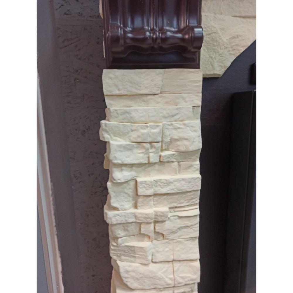 Портал Torre Classic камень белый, шпон темный дуб/камень белый, шпон беленый дуб/камень слоновая кость, шп