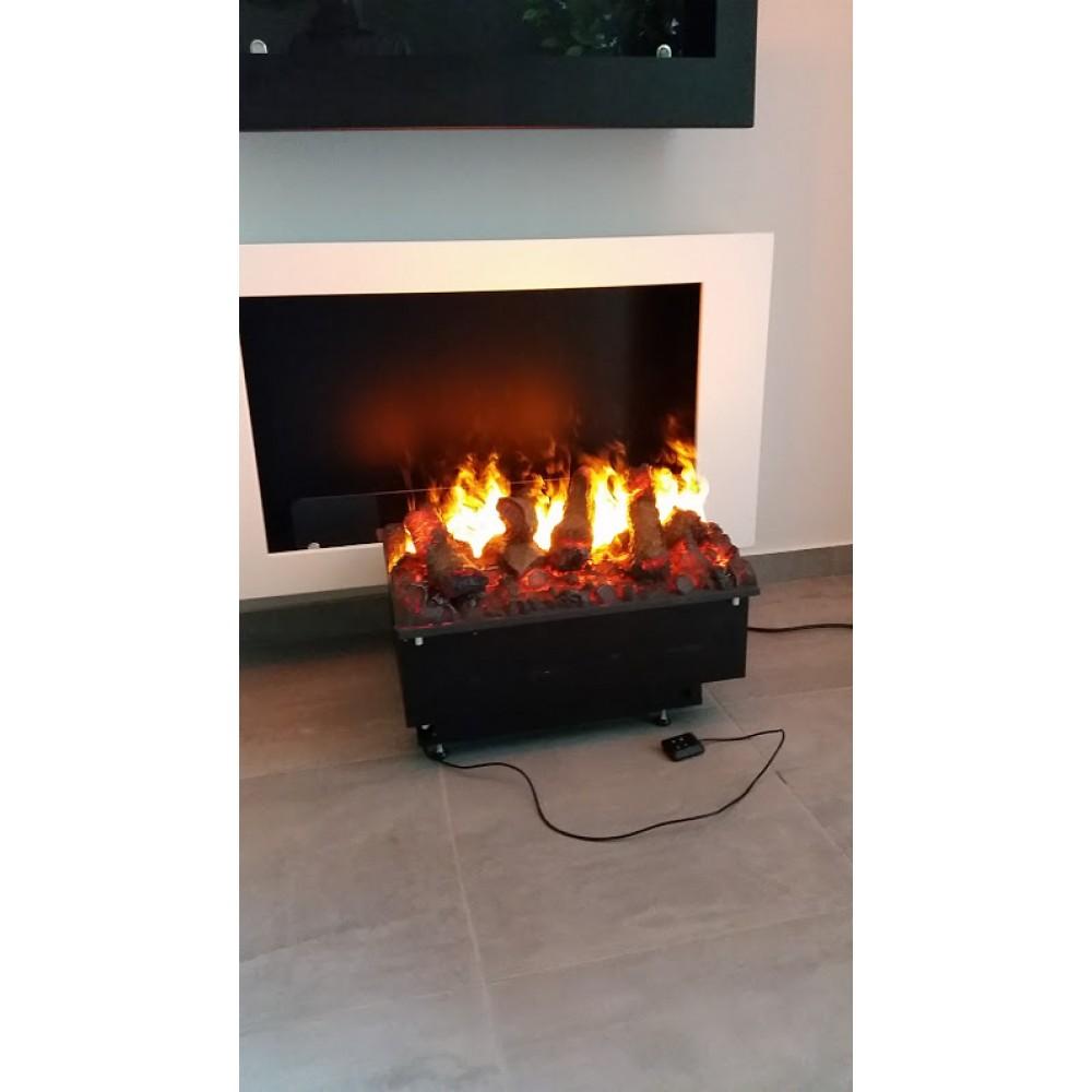Электрокамин с эффектом живого пламени  Cassette 500 DR