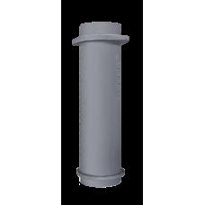 Чугунная НИЖНЯЯ труба для шибера 115/500мм