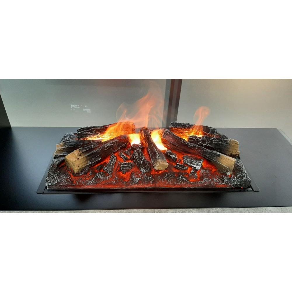 Электрокамин с эффектом живого пламени Zen