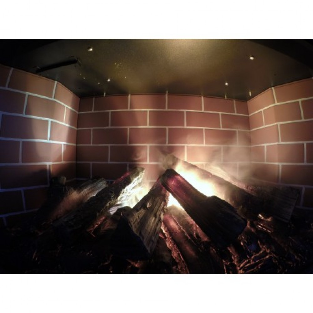 Электрокамин с эффектом живого пламени NOVARA 3D