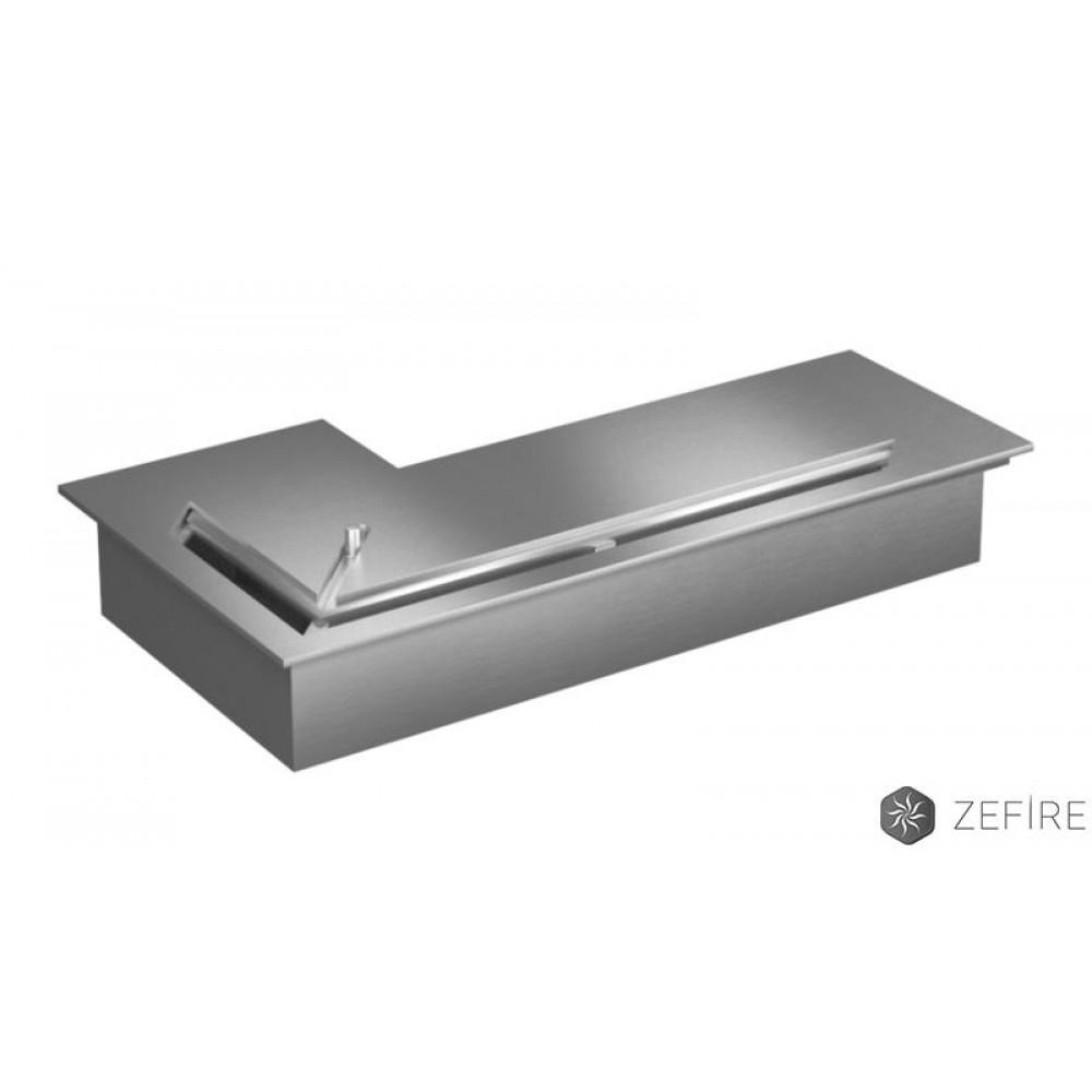 Топка-горелка Прямоугольный контейнер ZeFire угловой 500, 800, 1200