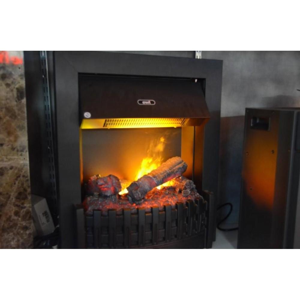 Электрокамин с эффектом живого пламени  Danville Black