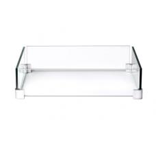 Ветрозащитный экран  для квадратного стола-камина
