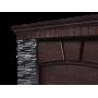 Каминокомплект Porto Classic камень черный, шпон венге/камень белый, шпон беленый дуб